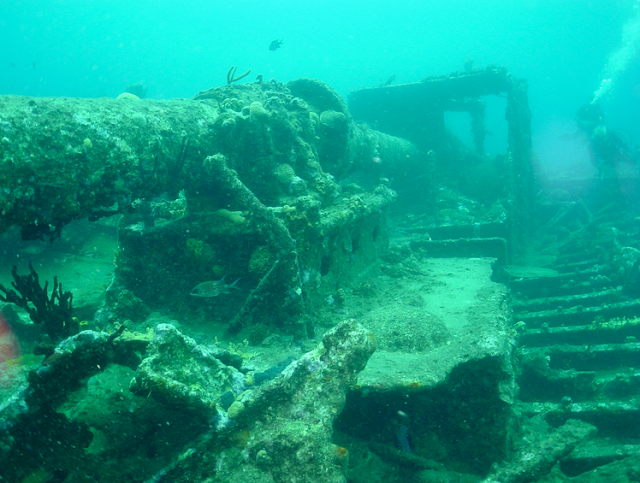 the submerged Port Royal in Jamaica