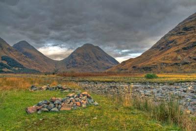 Glen Etive Landscape