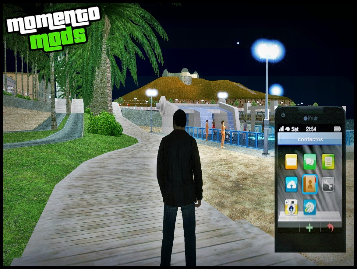 GTA SA - Mod Celular Funcional Do Michael De GTA V