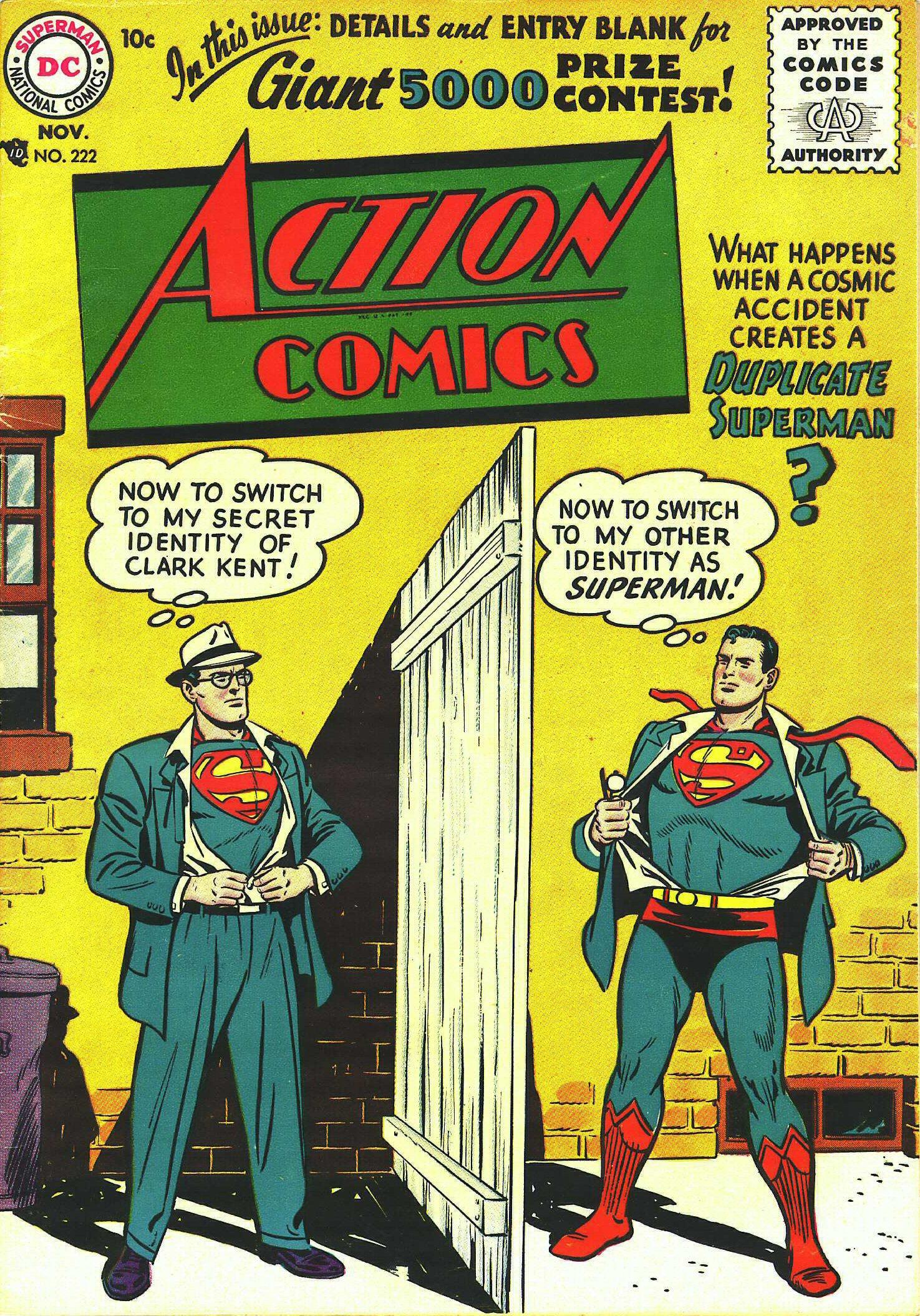 Action Comics (1938) 222 Page 1