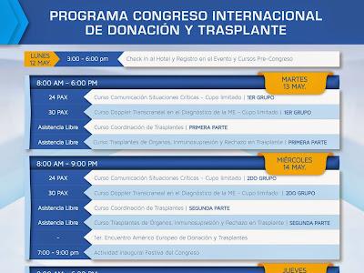 1er Congreso Internacional de Donación y Trasplante