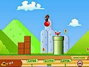 Mario nhảy bong bóng, chơi game mario hay tại gamevui