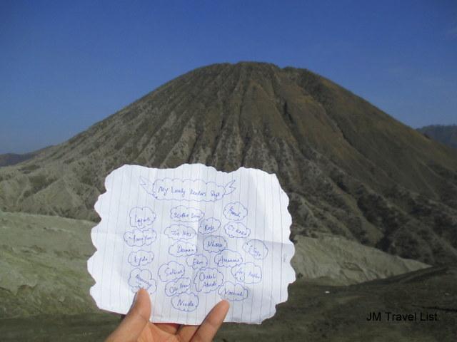 Percutian ke Gunung Batuk Surabaya Indonesia
