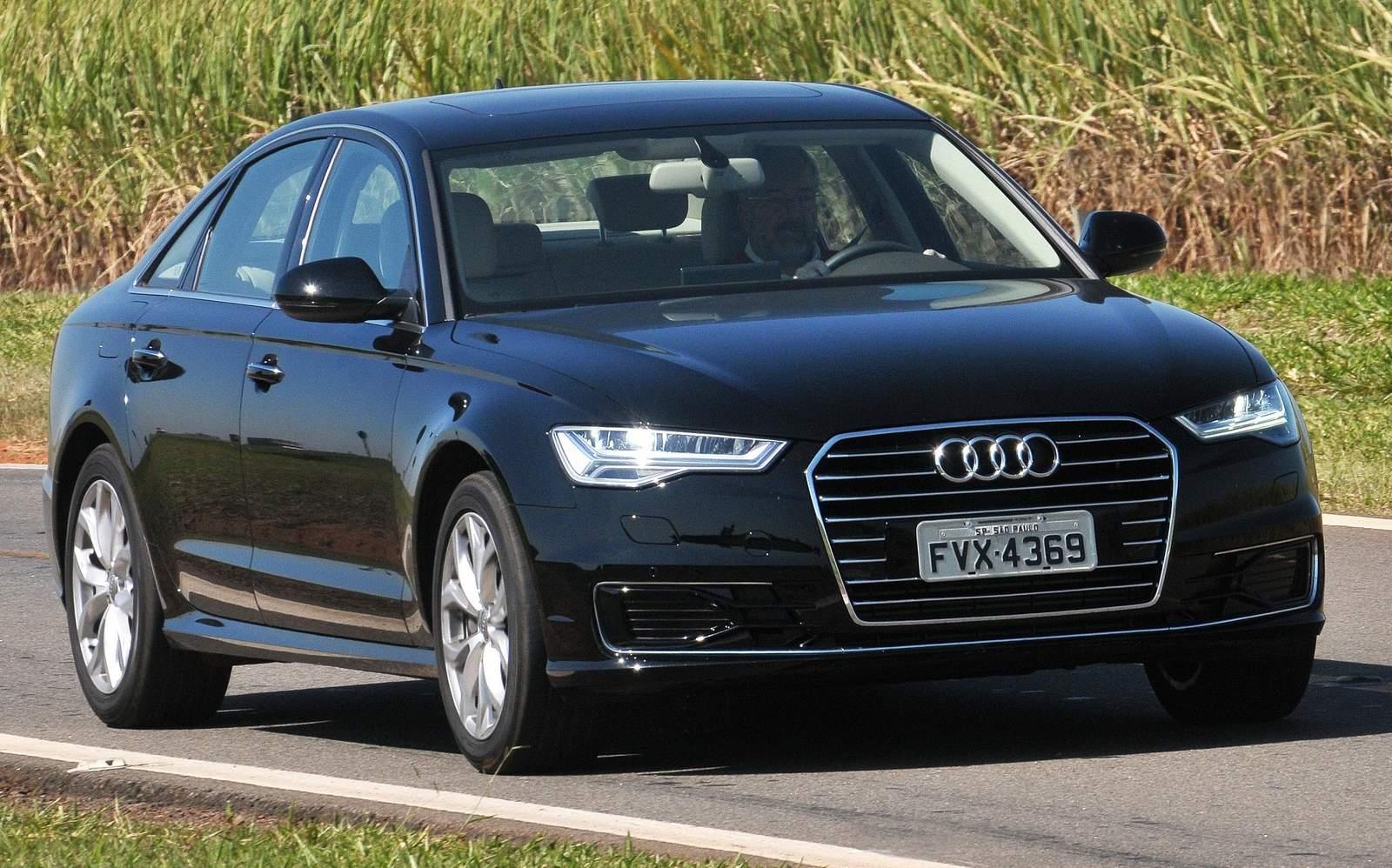 Audi A6 - sucessor espiritual do Audi 100 - atualmente na 7ª geração