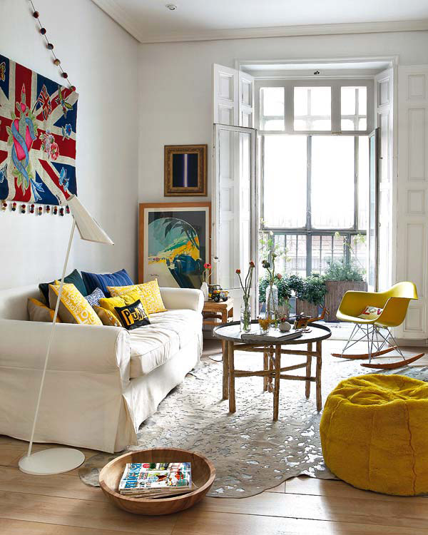 decoración con color blanco. homepersonalshopper