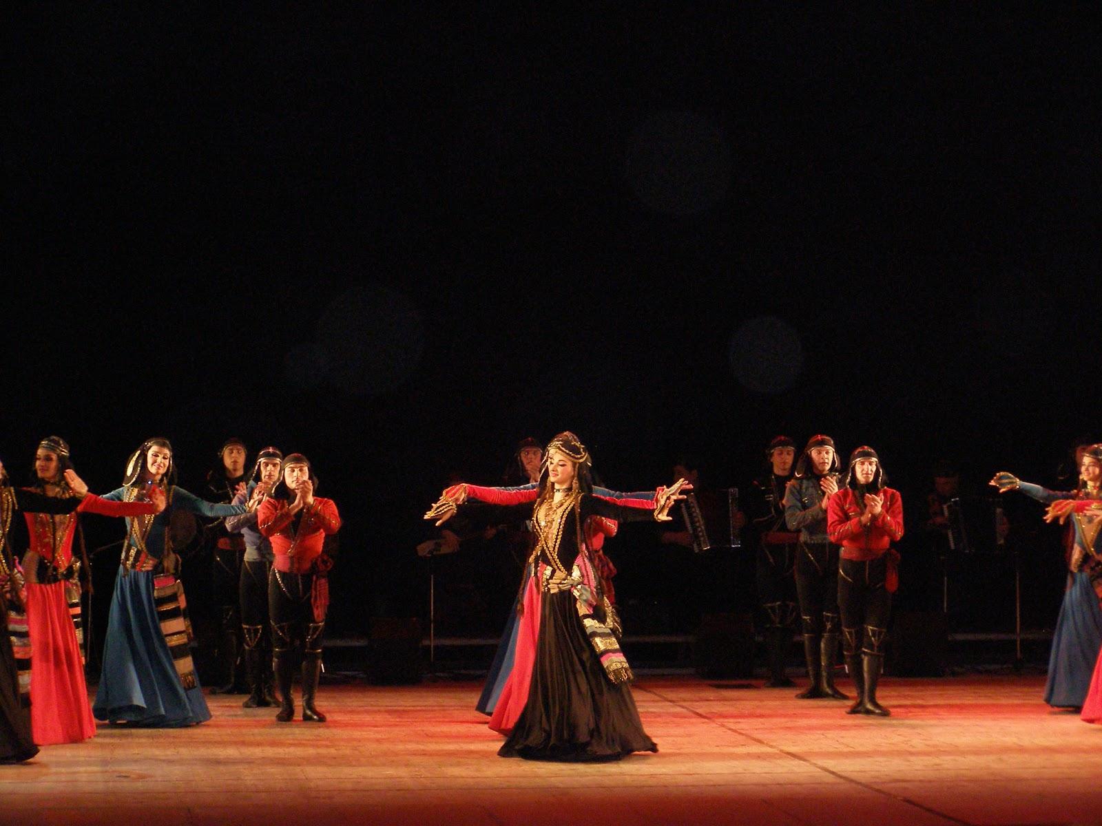 Грузинский танец на конкурс