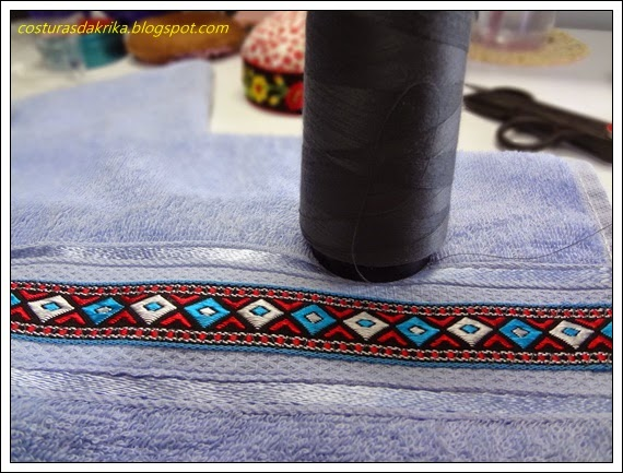 toalha decorada