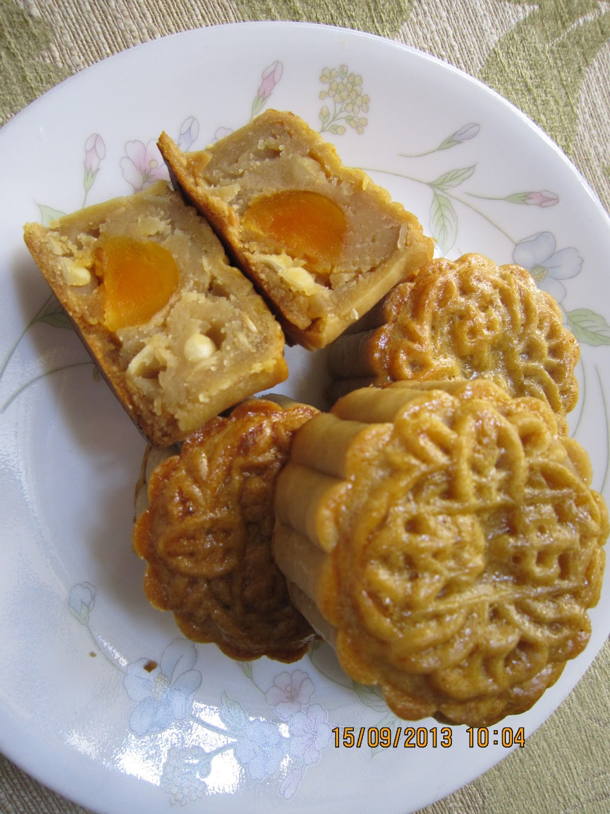how to make lotus paste for mooncake