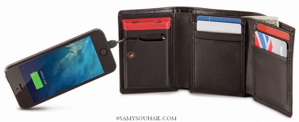 محفظة جيب حديثة تشحن الهواتف الذكية المنتهية البطارية