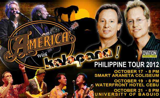 America with Kalapana Live in Manila