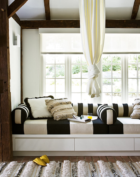 Cozy window seat  Justin Bernhaut