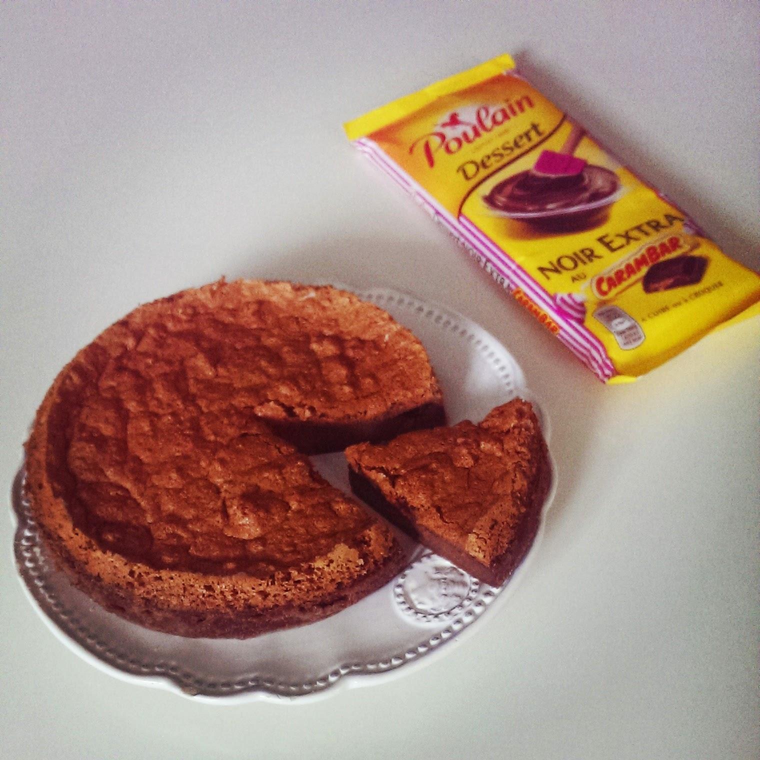 Gateau aux carambars sans gluten