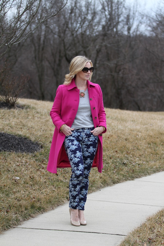 CWonder, floral pants, Gap, JCrew, Mama Said Monday, Michael Kors, Nine West, nude pumps, Prada, Simply Lulu Design, Simply Lulu Style, Stella Dot,