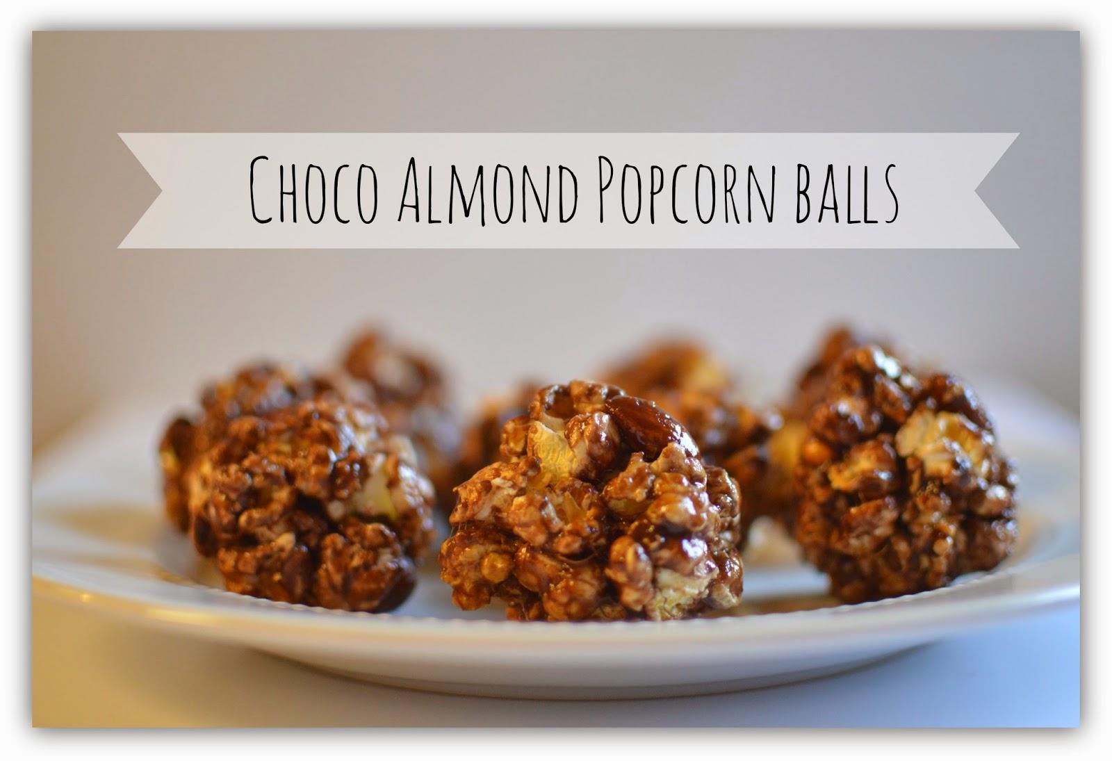 The Samantha Show: Choco Almond Popcorn Balls