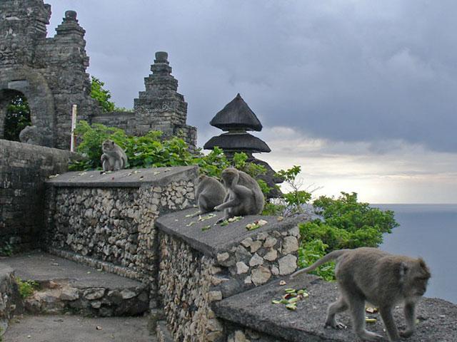 Objek Wisata Pura Luhur Uluwatu Pecatu Bali 3