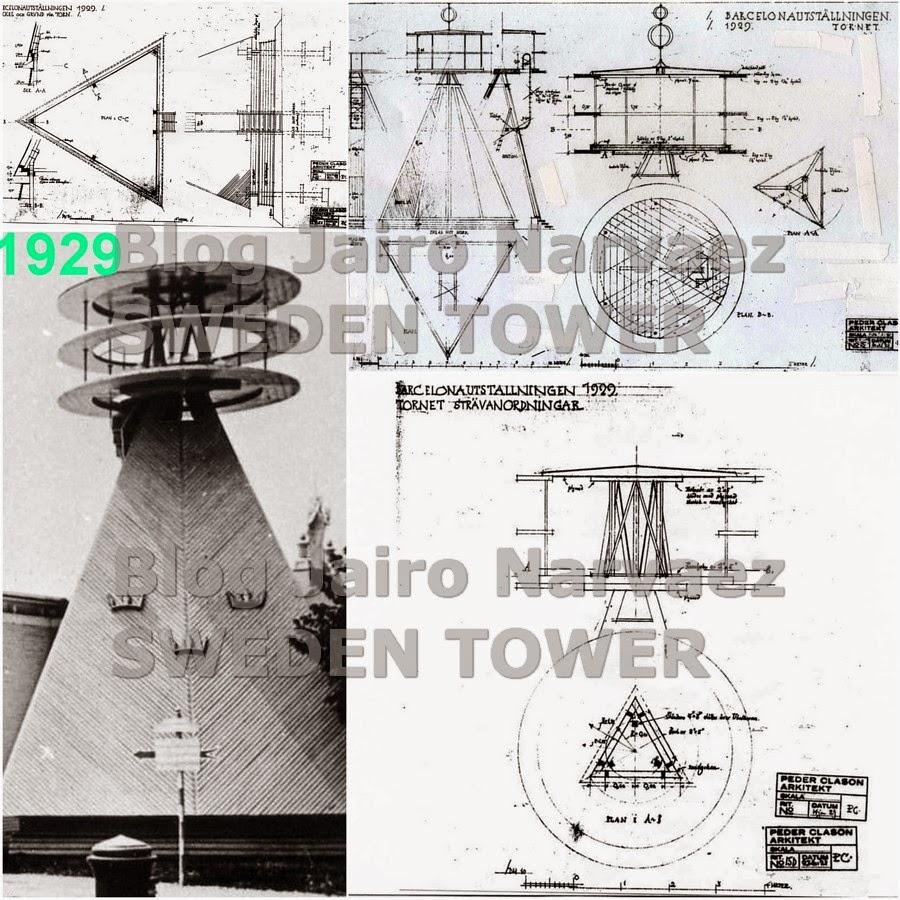 Sweden tower of barcelona year 1929 el pabell n y la torre construidos en berga en 1998 y 2008 - Ebanistas en barcelona ...