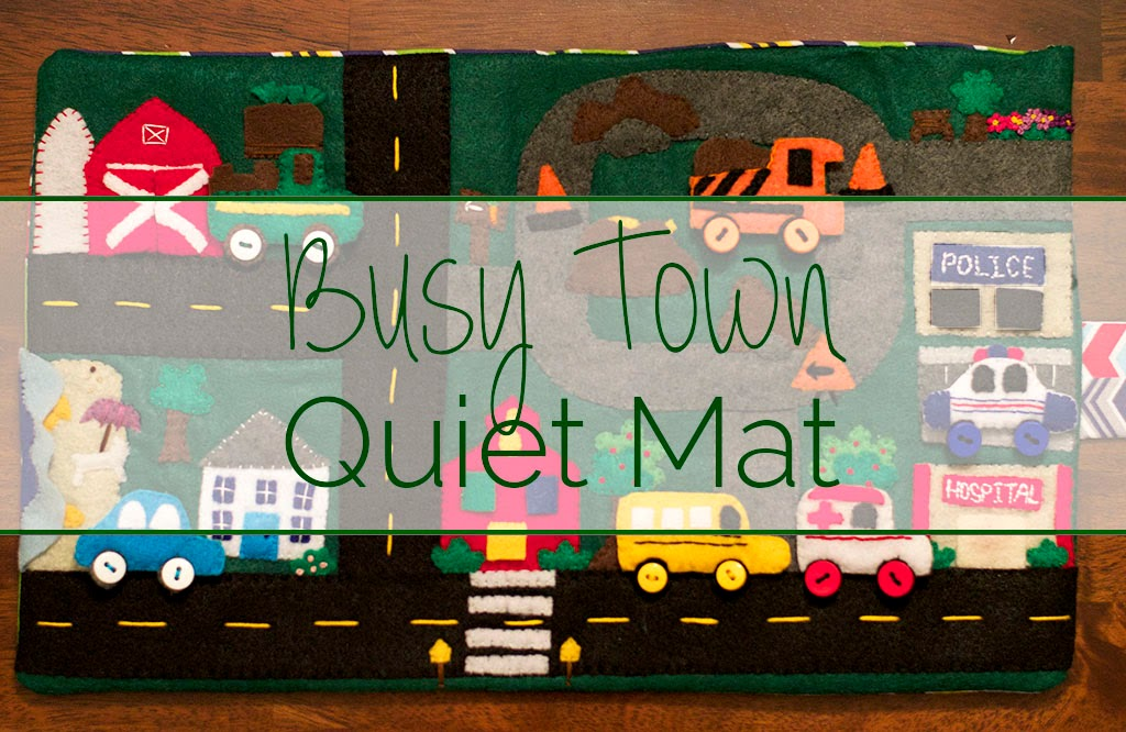 Busy Town Quiet Mat