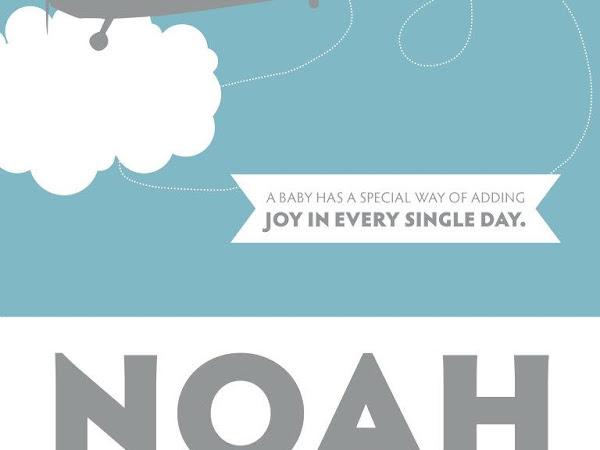 Noah's Nursery Art