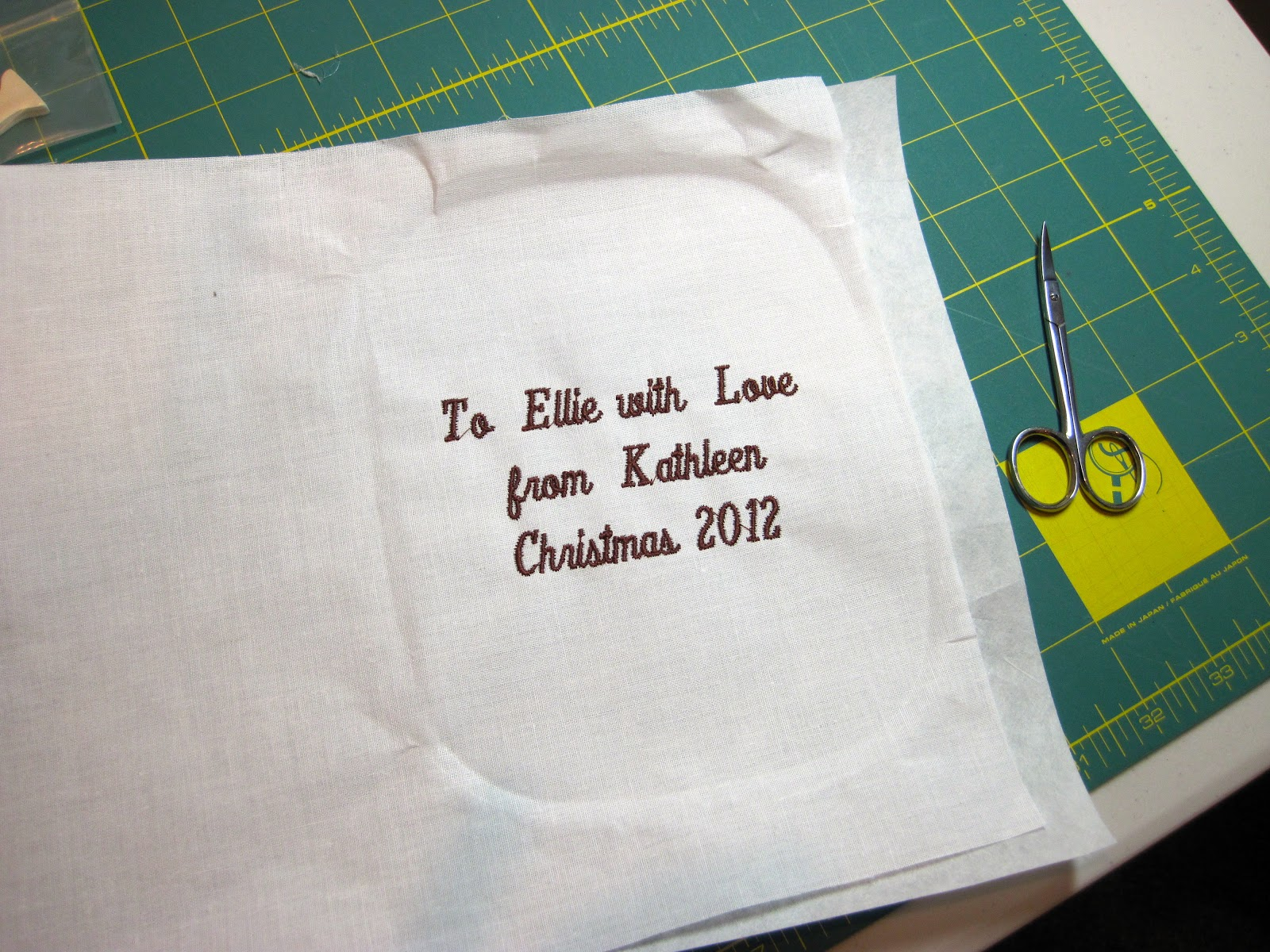 Embroidery Quilt Label Designs : Embroidered Quilt Labels & Shirts - Sylvia s Stitches