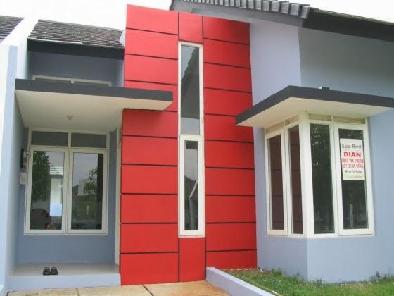 gambar warna cat eksterior rumah minimalis