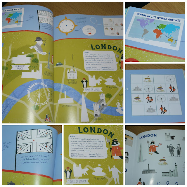 london, sticker book, Maggie Li