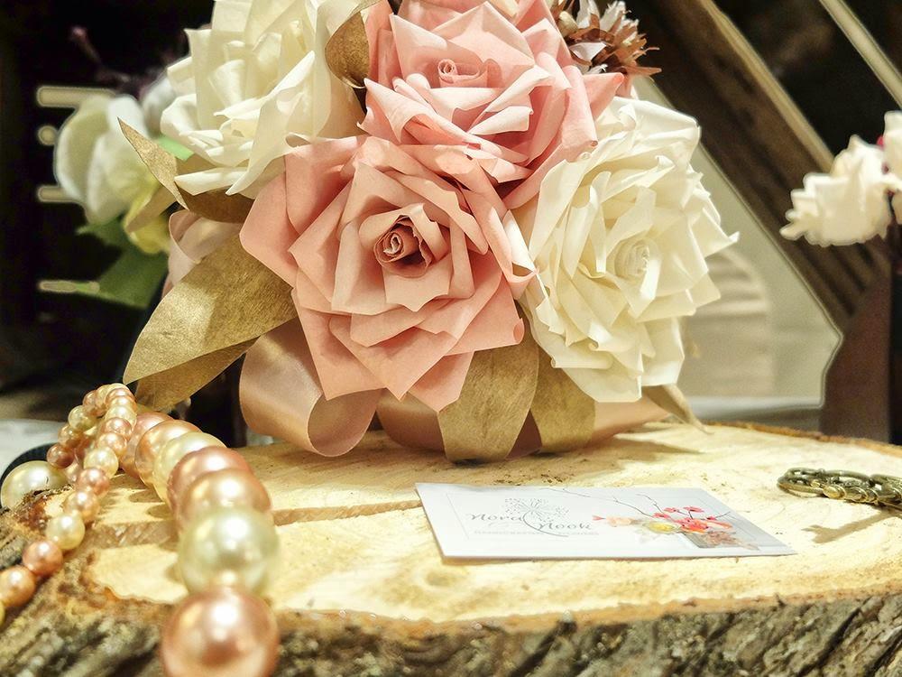 #esFujifilmX Nora Nook flores de papel ganadora Mi Boda Rocks Experience Madrid