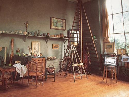 cezanne studio in aix en provence