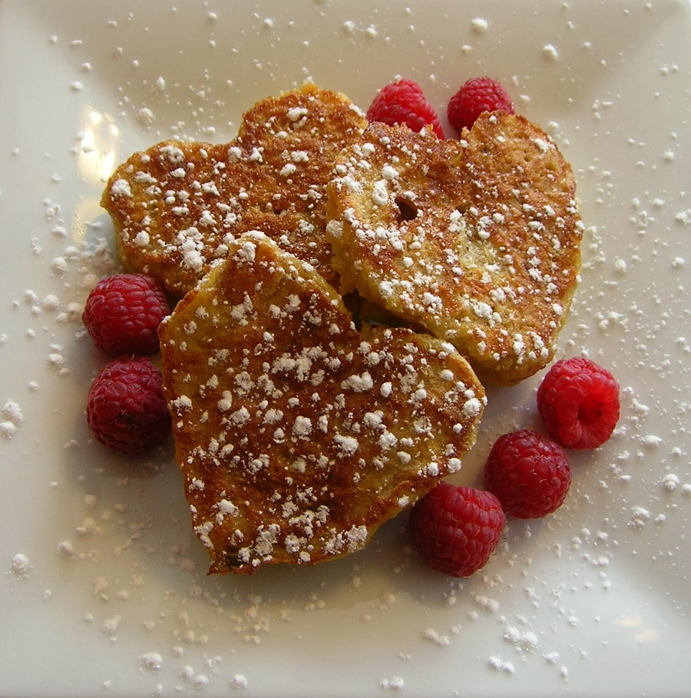 French Toast hearts