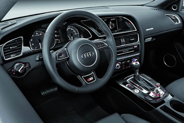 2012 Audi S5 Coupe Front Interior