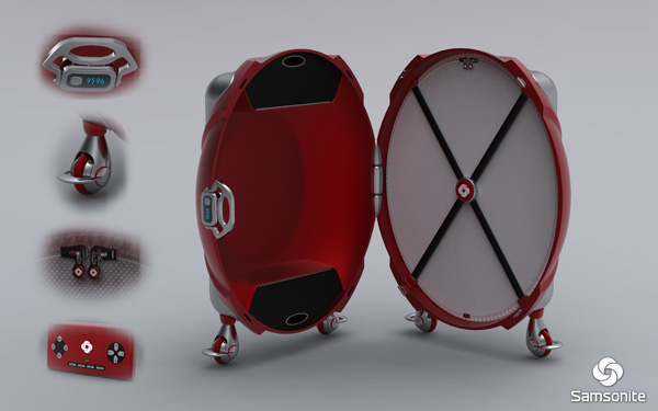 Samsonite Future Luggage Concept Seen On www.coolpicturegallery.us