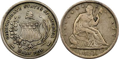 Confederate Half Dollar