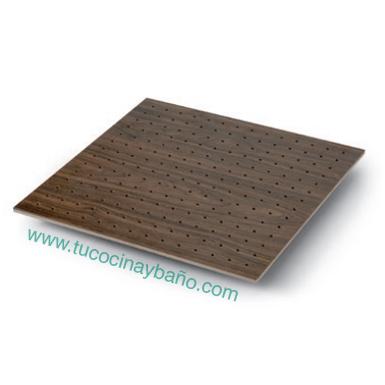 base madera gavetero cocina nogal