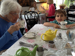 Great book and activity: Poofy Loves Company Tea Party