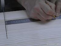 Medir y marcar los radios de corte. www.enredandonogaraxe.com