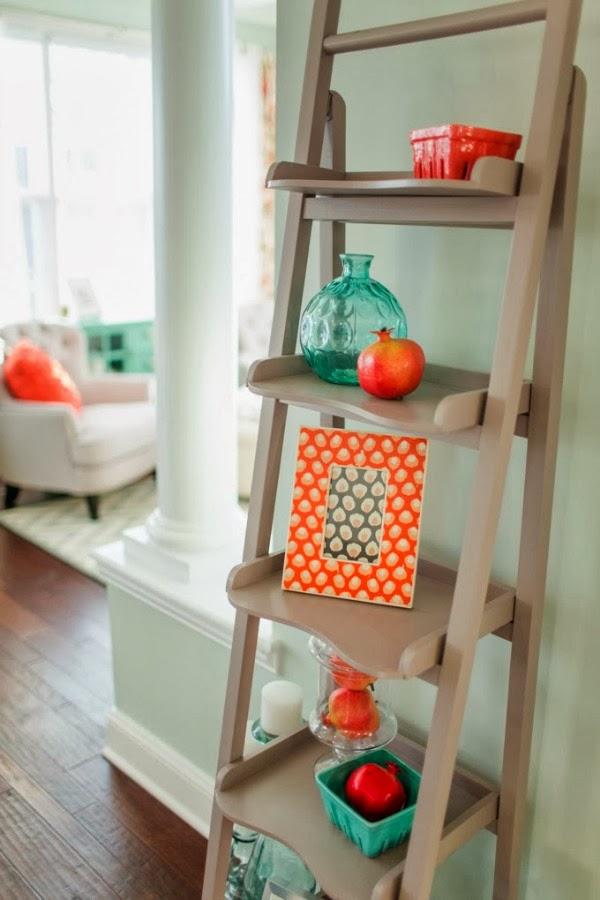 combinaci n turquesa y naranja por fin en casa