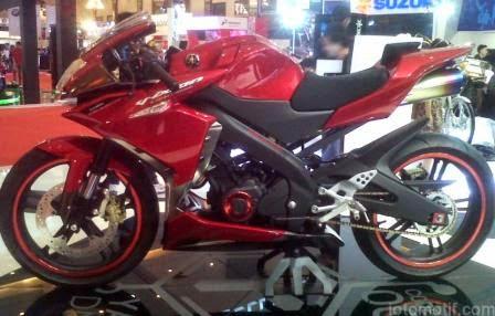 Modifikasi Yamaha Vixion Gaya Terbaru
