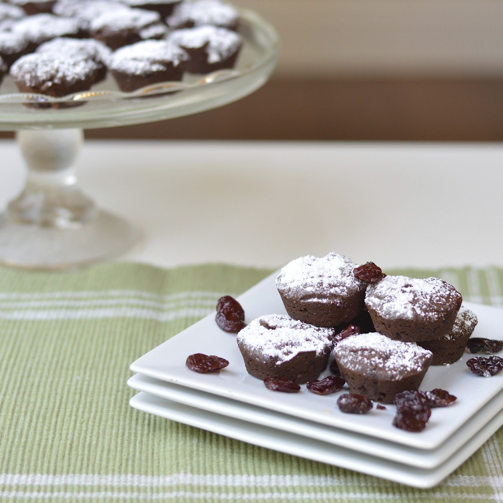 Chocolate Cherry Brownie Bites | Virtually Homemade: Dark Chocolate ...
