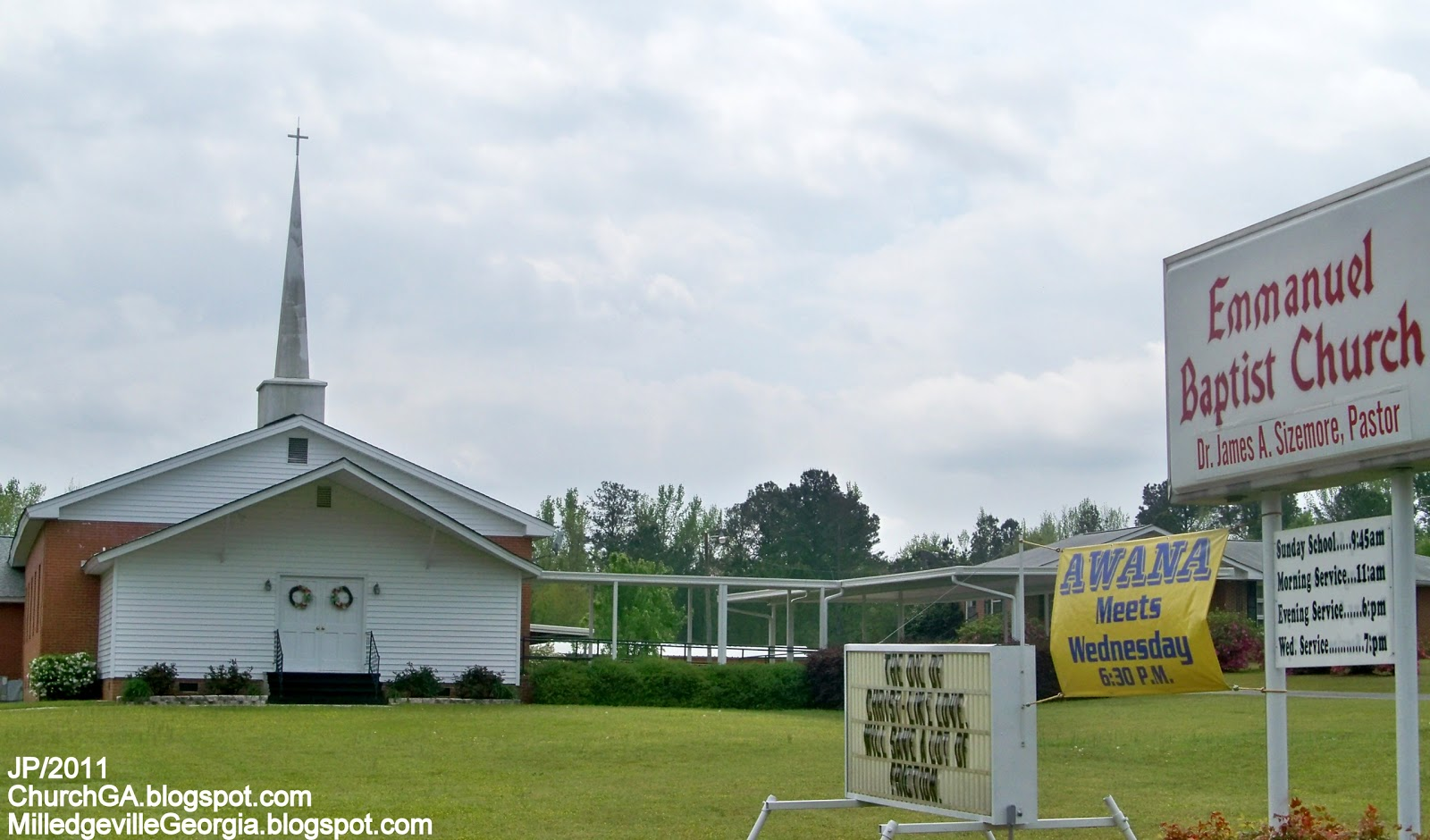 GA.FL.AL.CHURCH Photo First Baptist United Methodist ... Emmanuel Baptist Church