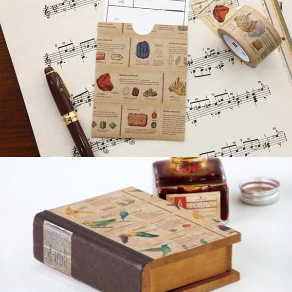 カモ井加工紙 / mt ex 図鑑シリーズ マスキングテープ