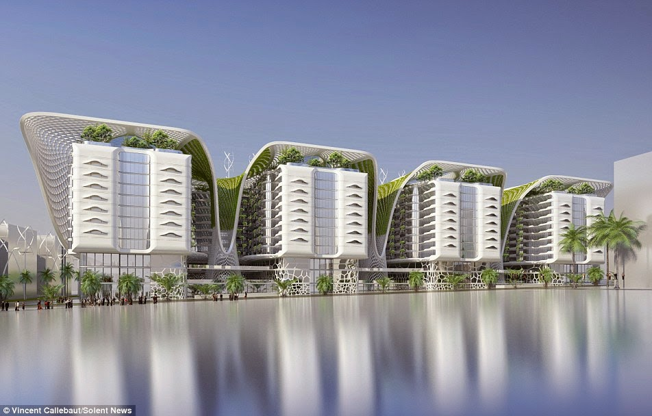 RESIDENCE'S GREEN ARCHITECTURE FEATURES, Urban Design, architecture