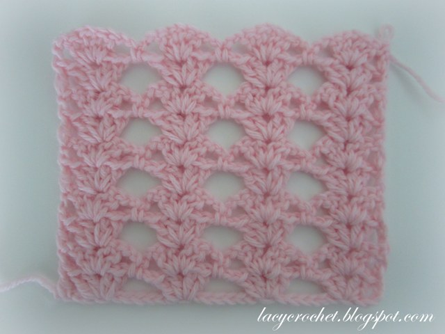 Crochet Stitch Patterns : Lacy Crochet: Crochet Stitch Patterns