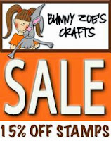 Stamps Sale at Bunny Zoe's Crafts