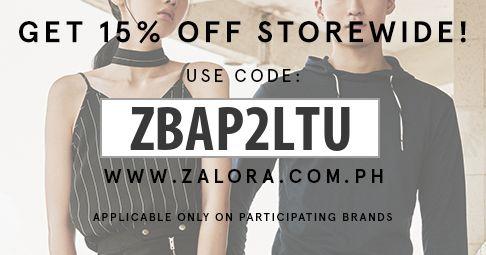 Zalora Discount Code!!!