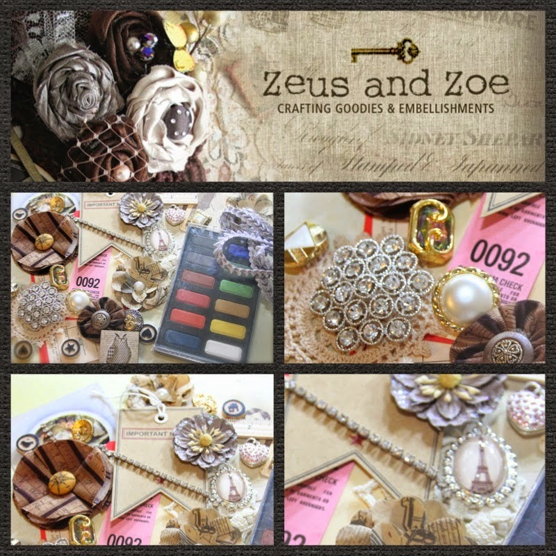 Giveaway from Zeus and Zoey !