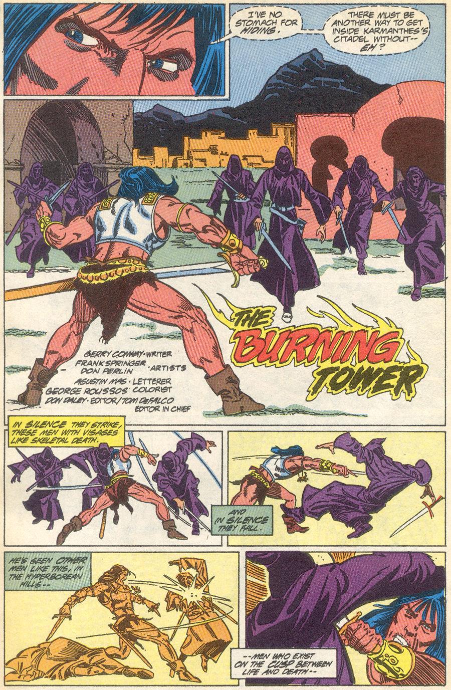 Conan the Barbarian (1970) Issue #231 #243 - English 3