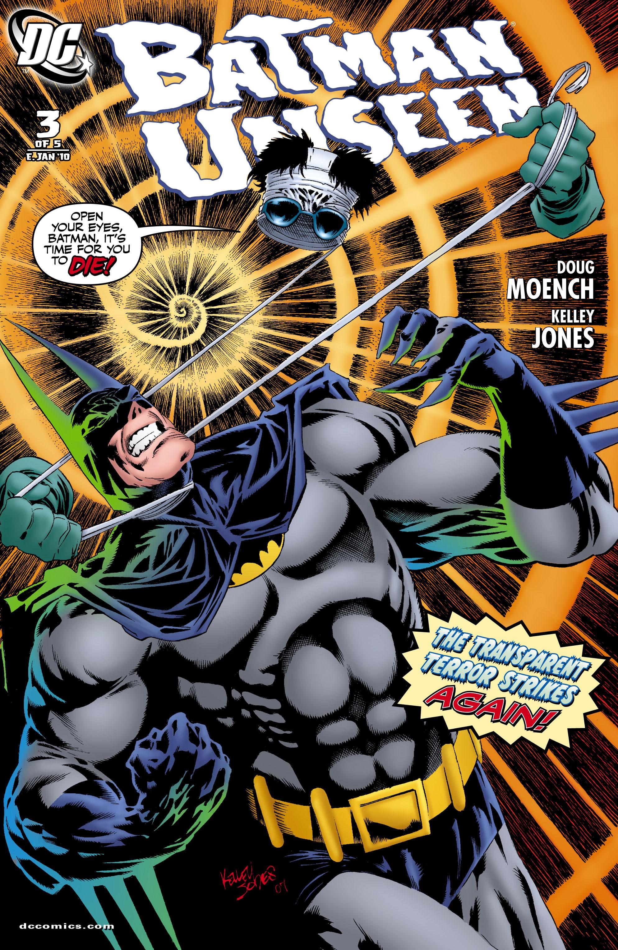 Batman: Unseen 3 Page 1