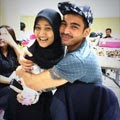 Fatin With Robby Purba