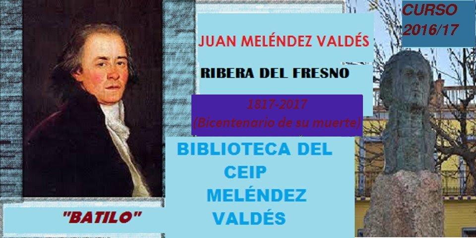 BIBLIOTECA DEL CEIP MELÉNDEZ VALDÉS