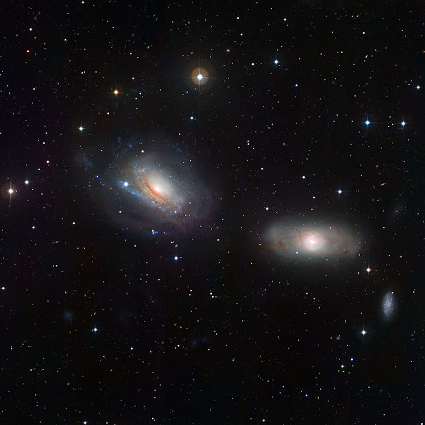 NGC 3169 and NGC 3166: a pretty but disturbed pair of Galaxies