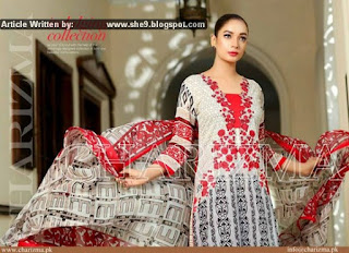 Charizma Luxury Embroidered Lawn Eid 2015